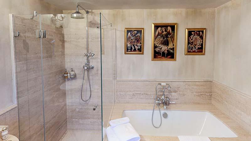 Bishop's Room in Castello di Casalborgone